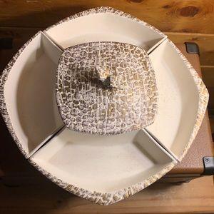 MCM Vintage Miramar of Ca 414 dish w/ 4 side bowls